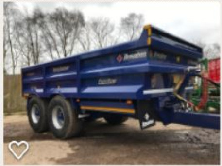 The Broughan Dump Trailer