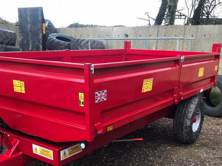 NEW FOSTER 6TON TRAILER (Ref 2968) HYDRAULIC BRAKES & LIGHTS