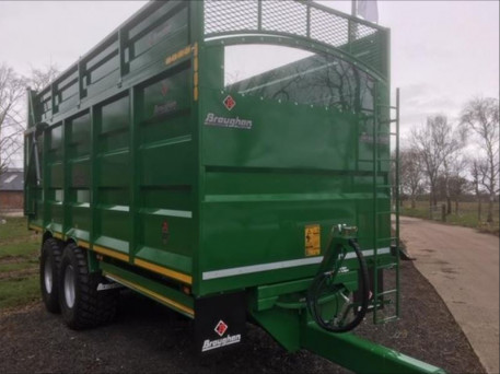 NEW BROUGHAN SILAGE TRAILER. (REF 2716)