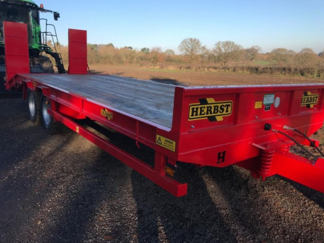 NEW 19TON HERBST LOW LOADER