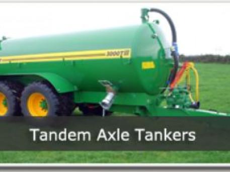 Conor Tandem Slurry Tankers
