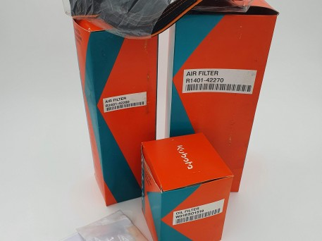 KUBOTA KX161.3  UX45.3 KX121.3 500HR SERVICE KIT
